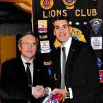 Ospite del Lions Club Oderzo il 26-01-2016